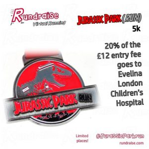 Jurassic Park Run Virtual Race 5k