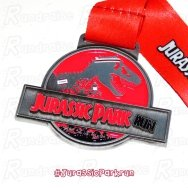 Jurassic Park Run Virtual Race 5k Thumbnail